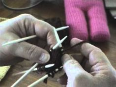 The Mother Bear Project: Knitting The Bear With The Raglan Join - YouTube