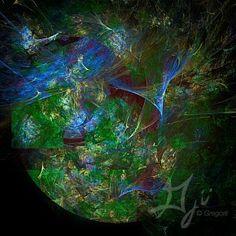 """""""Earthscape"""" by Gregorii  // Gregorii.com"""