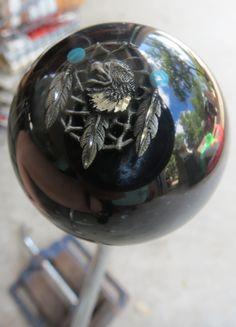 Eagle Head Feather Dream Catcher Shift Knob - HouseOspeed - Hot Rod Shift Knob