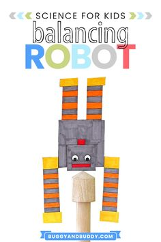 Print out this free robot template and challenge kids to use pennies and tape to get it to balance. A fun STEM / Science challenge for kids. Creative Activities For Kids, Craft Projects For Kids, Arts And Crafts Projects, Preschool Activities, Kid Activites, Creative Play, Diy Projects, Craft Ideas, Rainy Day Crafts