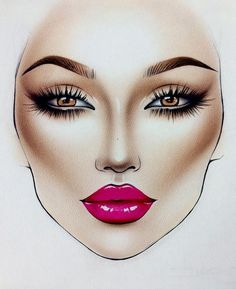 How to shape perfect brows – permanent brows – microblading & powder ombre - Permanent Makeup Mac Makeup, Eyebrow Makeup, Beauty Makeup, Eyeliner, Eyeshadow Makeup, Eyeshadow Palette, Makeup Illustration, Illustration Mode, Makeup Inspo