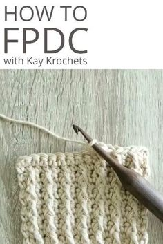 Free Crochet, Knit Crochet, Front Post Double Crochet, Baby Deer, Types Of Yarn, Crochet Videos, Yarn Crafts, Knit Patterns, Crochet Stitches