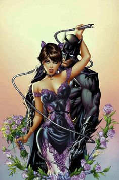 Eric Basaldua - Batman and Catwoman