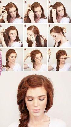 Simply Hairstyles, Office Hairstyles, Braided Hairstyles, Medium Long Haircuts, Medium Hairstyles, Teacher Hair, Long Hair Wigs, Pinterest Hair, Hair Trends