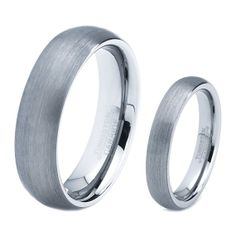 His & Hers Men Women Matching Set Tungsten Carbide by GiftFlavors, $86.77