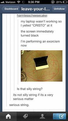 Scary Laptop #Laptop, #Scary
