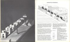 A spread from issue #7, (Steven Holl, 1981)
