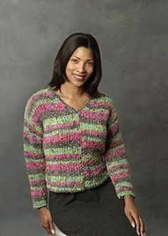 Free Knitting Pattern - Womens Sweaters: V-Neck Sweater