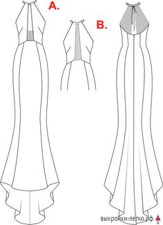 Tunic Sewing Patterns, Clothing Patterns, Dress Patterns, Wedding Dress Sketches, Column Dress, Dress Drawing, Fashion Figures, Fashion Design Sketches, Embroidery Fashion