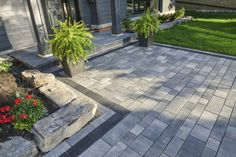 Creating a contemporary patio is one way to set your home apart from the more traditional properties in your area. Modernizing your landscape can give it that luxurious appeal that many new homeowners are looking for, boosting the resale value of your home. Consider utilizing some of the following Unilock pavers as the foundation …