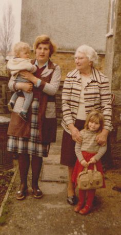 nan with evelyn,tracy & steven