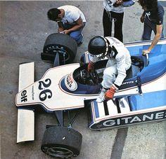 Jacques Laffite (Ligier-Cosworth) 1er Grand Prix d'Argentine - Buenos Aires et du Grand Prix du Bresil - Sao Paulo - 1979 - L'Automobile mars 1979
