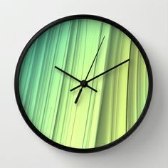 """Smoothity "" Wall Clock by Lyle Hatch 