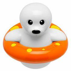 Chicco Jouet de bain phoque nageur gicleur 2