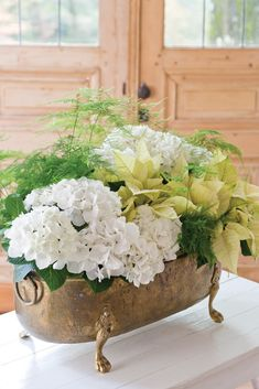 Learn how to make this stunning seasonal arrangement!