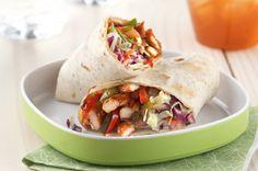 bbq chicken roll-ups