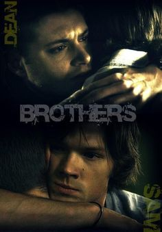 I love when they have their moments....it actually really feels real, like they're brothers                         Dean & Sam ... Winchester Brothers