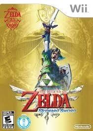 Legend of Zelda Skyward Sword w/ CD - Wii Game