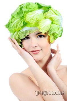 vegetable headwear