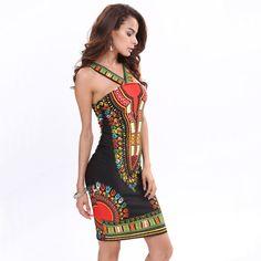a2957945667 2016 New African Fashion Design Dashiki Dress Women Sexy Dresses Party Night  Club Dress Summer Style