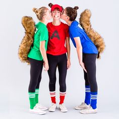 This Alvin and the Chipmunks Costume Is the Perfect Tweens Group Costume via Brit + Co