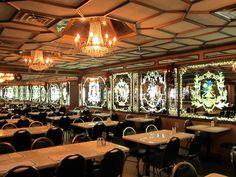 Eat Cuban food at Versailles restaurant