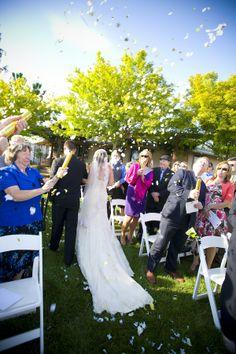 Backyard Style Rustic Wedding From Napa Valley - Rustic Wedding Chic