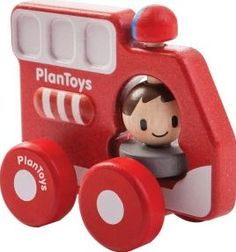 Plan Toys My first fire truck `One size Age : 12 months and upwards Fabrics : Recycled rubbertree wood Composition : Planwood: ground rubber tree roots, mixed with sawdust and stuck together with non-toxic E-Zero glue to make a modelling do http://www.comparestoreprices.co.uk/january-2017-7/plan-toys-my-first-fire-truck-one-size.asp