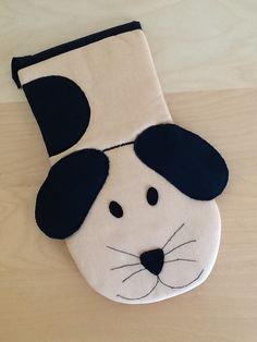 Dog oven glove from Vardenis Sewing