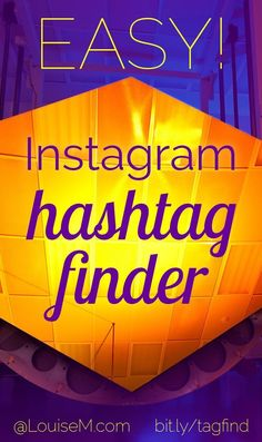 Instagram marketers need the best hashtags! But it takes so long to find them! Click to blog to try a one-of-a-kind Instagram Hashtag Finder tool from Tailwind. Find 30 perfect tags in one minute! Busy business owners and influencers will love it. | #LouiseM #InstagramMarketing #InstagramTips #ProductivityTips #SmallBusinessTips #SMM #MarketingTips #SocialMediaMarketing