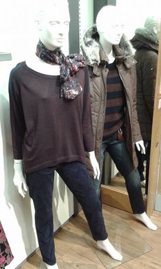Keep warm this winter in great knitwear and jackets from Taifun in our Contemporary Dept. McEwens