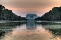 Lincoln Memorial from the Reflecting Pool