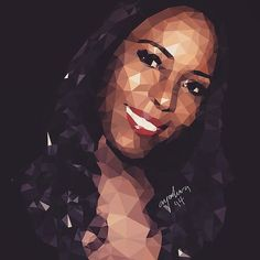 #throwback  That time @ayooluwaelisha did a #lowpolyart #vector of @officialLindaIkeji / @lindaikeji with the hopes that she might fall in luff  Nice work bruh    #art #illustration #drawing #draw #picture #photography #artist #sketch #sketchbook #paper #pen #pencil #artsy #instaart #beautiful #instagood #gallery #masterpiece #creative #photooftheday #instaartist #graphic #graphics #artoftheday