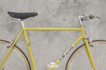 So far so good | CICLOGRAFICA | #Bici #vintage #restaurate | #bike #bicycle #velo #bicicleta #vintage #oldstyle #retro #type #typography #design #yellow