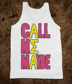 Alpha Sigma Alpha Call Me Maybe Tank