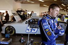Carl Edwards at Daytona testing Jan 2012