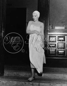 rare photo Marilyn Monroe aka Norma Jeane Baker
