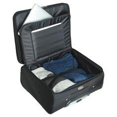 NBA Minnesota Timberwolves Mojo Wheeled Laptop Overnighter Bag