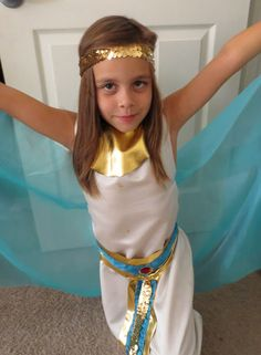 Egyptian Costume { The Crafty Homeschool Mama }: How to Have Your Own Epic Greek Battle & Olympic Games