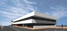 Ideas de #Edificios de #Exterior, estilo #Moderno diseñado por AREA, estudi d'arquitectura. Marcel Torres Arquitecto con #Dibujos #Fachada #Render-maqueta  #CajonDeIdeas