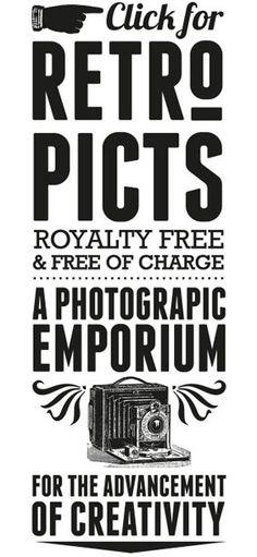Retro Vectors : Royalty Free & Free of Charge! Retro vector art, fonts and cool tutorials! http://retrovectors.com/