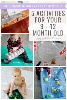 Simple activities for you 9 - 12 month old. Keep your baby entertained while working on their fine motor skills with these fun activities. activities 5 Activities for 9 - 12 Month Olds - Relatable Motherhood - Jannine MacKinnon 9 Month Old Baby Activities, Infant Activities, Activities For Kids, Indoor Activities, Baby Sensory Play, Baby Play, Montessori Baby, 11 Month Old Baby, 9 Month Olds