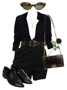 """""""West Coast"""" by vanillabae ❤ liked on Polyvore featuring Lana Jewelry, Topshop and Chanel"""