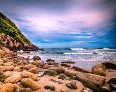 Ilha do Mel, praia do Farol das Conchas. Nova Brasília, Paraná, Brasil.  Fotografia: Jefferson Bernardes/Flickr.