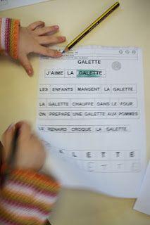 une journée à l'école maternelle: semaine du 16 au 20 janvier