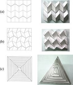 New Deployable Structures Based on an Elastic Origami Model | Journal of Mechanical Design | ASME DC