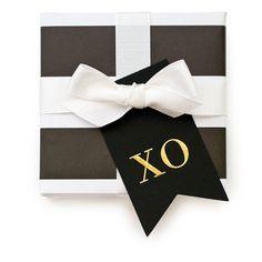 "Sugar Paper ""XO"" Tags"