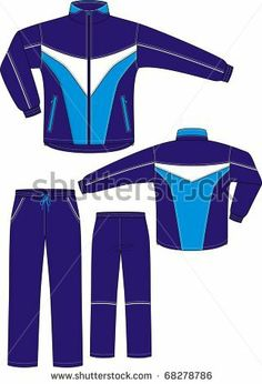 stock-vector-suit-sports-consisting-of-a-jacket-and-trousers-68278786