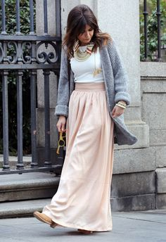 I need a skirt similar to this....Think Pink  , Zara in Cardigans, coosy in Skirts, Zara in Jewelry