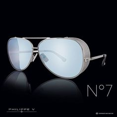 """From burning man to Madison Avenue, Philippe V's No. 7 is a frame with no hinges and more importantly, no boundaries. Welcome to the new order."" #liveinstyle #burningman #philippev"